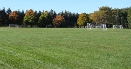 We provide specialty services with advanced equipment to maintain sporting fields for schools and communities.